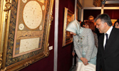Masterpieces of calligraphy art on view at Yıldız Palace