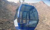 Cable cars to visit historic caves of Hira and Thawr