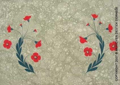 Ebru | poppy
