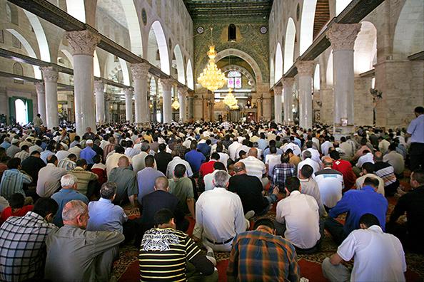 Prayer in the Masjid al-Aqsa