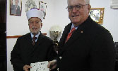 Jerusalem Grand Mufti Receives Covenants