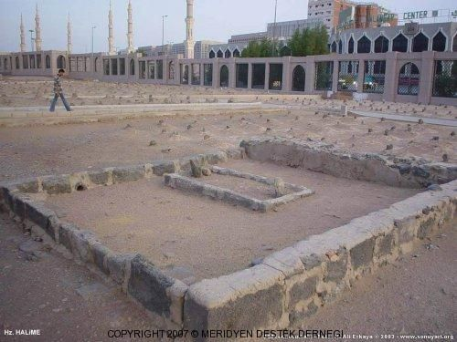 Grave of Halima, the Last Prophet's wet nurse
