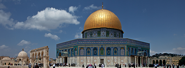 The candles of Al-Quds